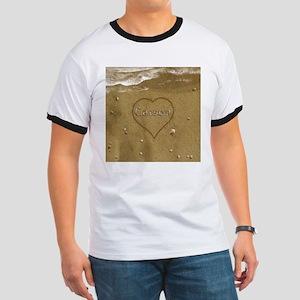 Carson Beach Love Ringer T