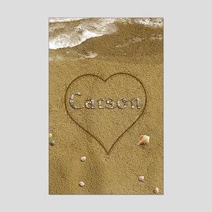 Carson Beach Love Mini Poster Print