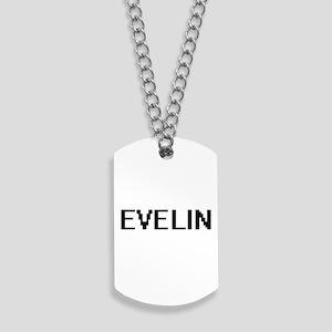 Evelin Digital Name Dog Tags