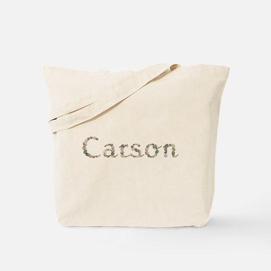 Carson Seashells Tote Bag