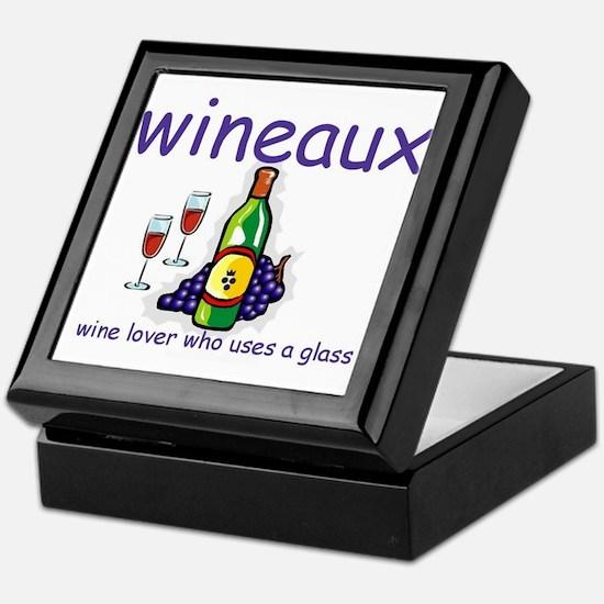 Wine Lover - Wineaux Keepsake Box