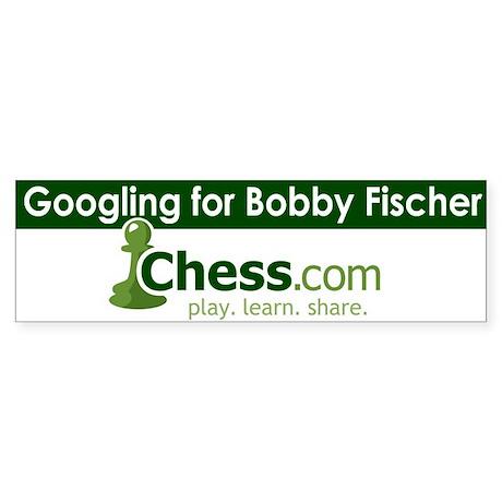 Bumper Sticker - Googling Bobby