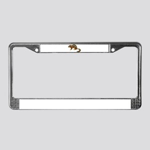 Cute Chipmunk License Plate Frame