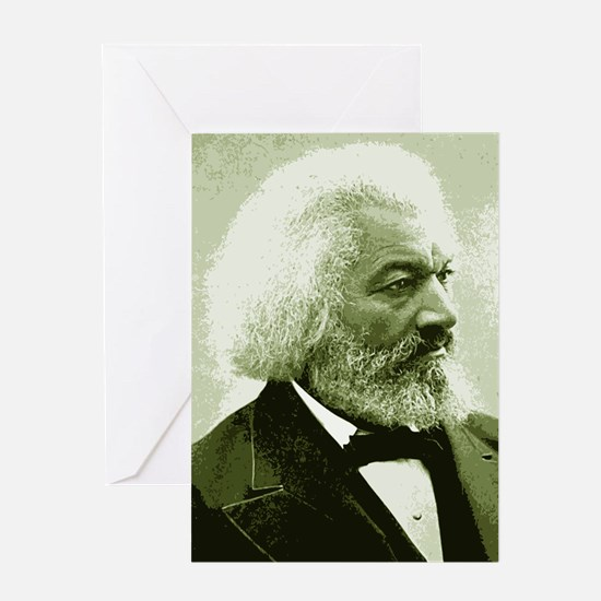 "Frederick Douglass ""Agitate!"" Greeting Card"