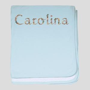 Carolina Seashells baby blanket