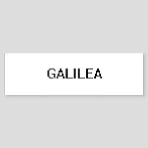 Galilea Digital Name Bumper Sticker