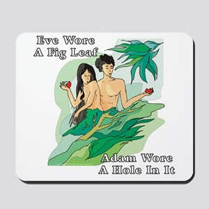 Adam and Eve Mousepad