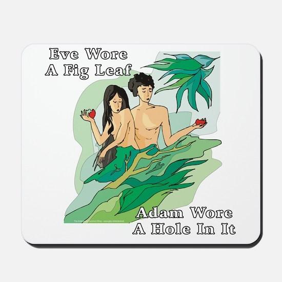 Adam and Eve Mousepad