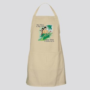 Adam and Eve BBQ Apron