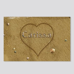 Carissa Beach Love Postcards (Package of 8)