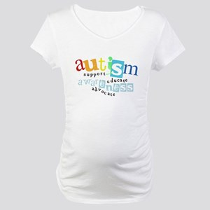 Autism Grunge - Maternity T-Shirt