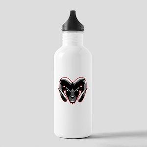 Ram Mascot Water Bottle