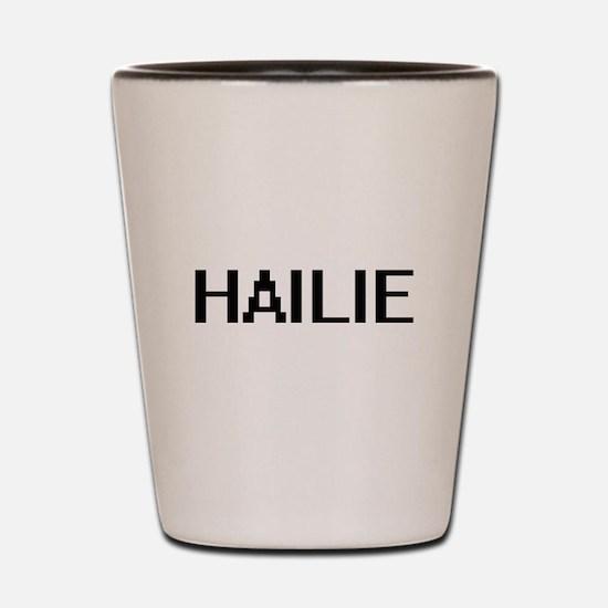 Hailie Digital Name Shot Glass