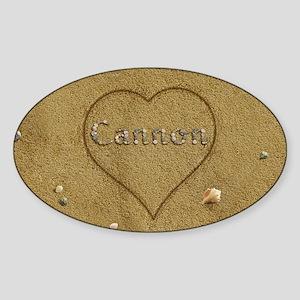 Cannon Beach Love Sticker (Oval)