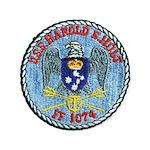 USS HAROLD E. HOLT Button