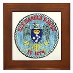 USS HAROLD E. HOLT Framed Tile