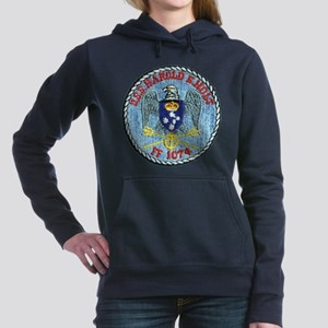 USS HAROLD E. HOLT Women's Hooded Sweatshirt