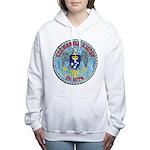 USS HAROLD E. HOLT Women's Hooded Sweatshirt
