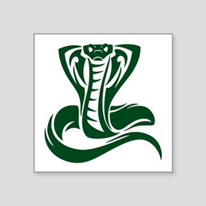 Green Cobra Snake Sticker