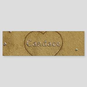 Candace Beach Love Sticker (Bumper)