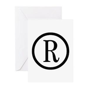 copyright symbol greeting cards cafepress