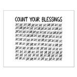 Count Your Blessings Poster Design
