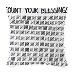 Count Your Blessings Woven Throw Pillow