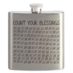 Count Your Blessings Flask