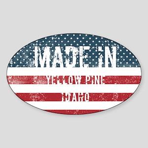Made in Yellow Pine, Idaho Sticker