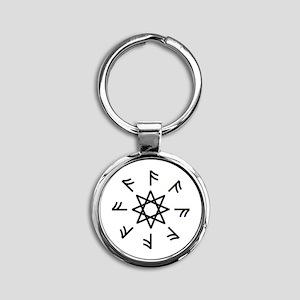 A-Rune Wheel 2 Keychains