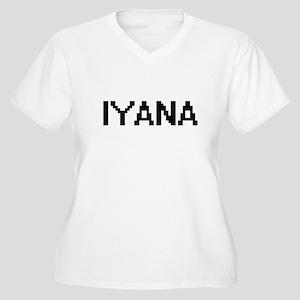 Iyana Digital Name Plus Size T-Shirt