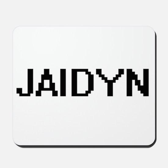 Jaidyn Digital Name Mousepad