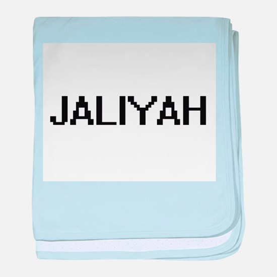 Jaliyah Digital Name baby blanket