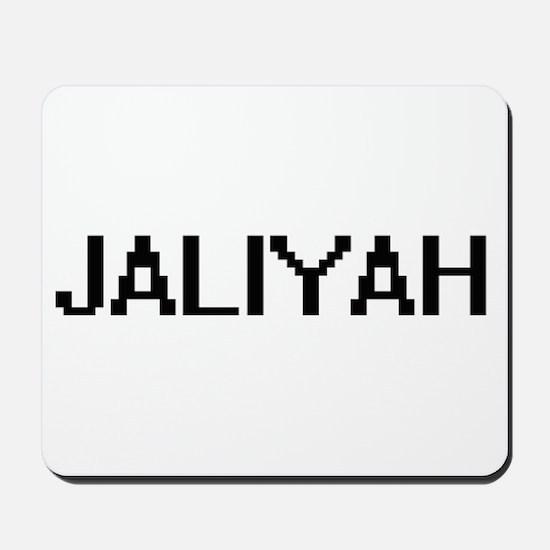 Jaliyah Digital Name Mousepad
