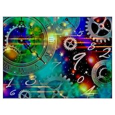 Steampunk Time Universe Poster