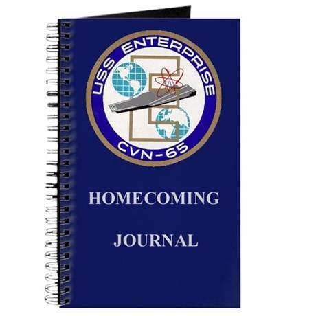 USS Enterprise Homecoming Journal