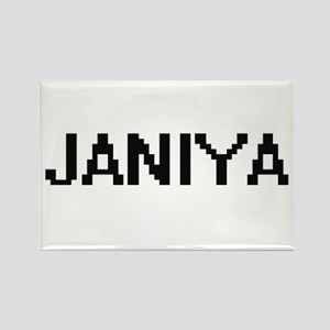 Janiya Digital Name Magnets