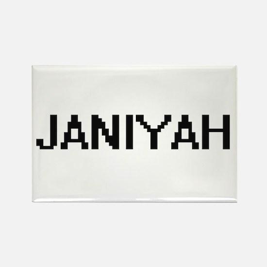 Janiyah Digital Name Magnets