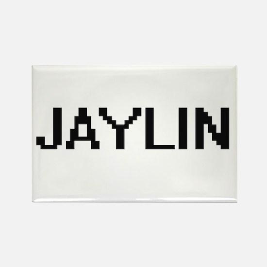 Jaylin Digital Name Magnets