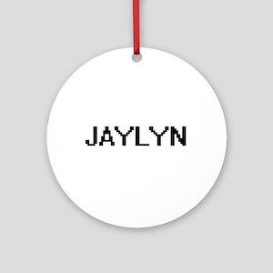 Jaylyn Digital Name Ornament (Round)