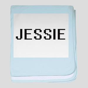 Jessie Digital Name baby blanket