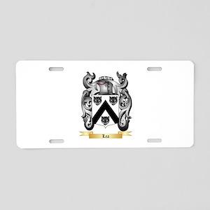 Lea Aluminum License Plate