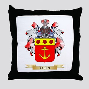 Le Mer Throw Pillow