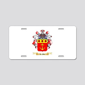 Le Mer Aluminum License Plate