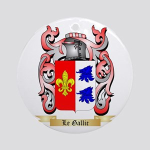 Le Gallic Ornament (Round)