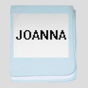 Joanna Digital Name baby blanket