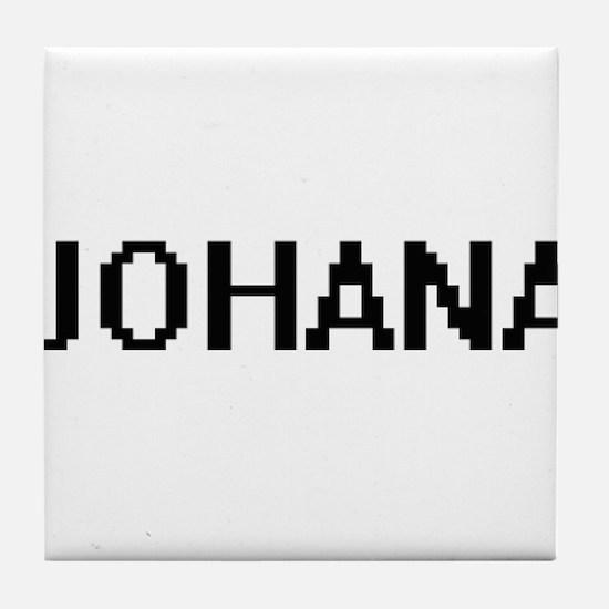 Johana Digital Name Tile Coaster