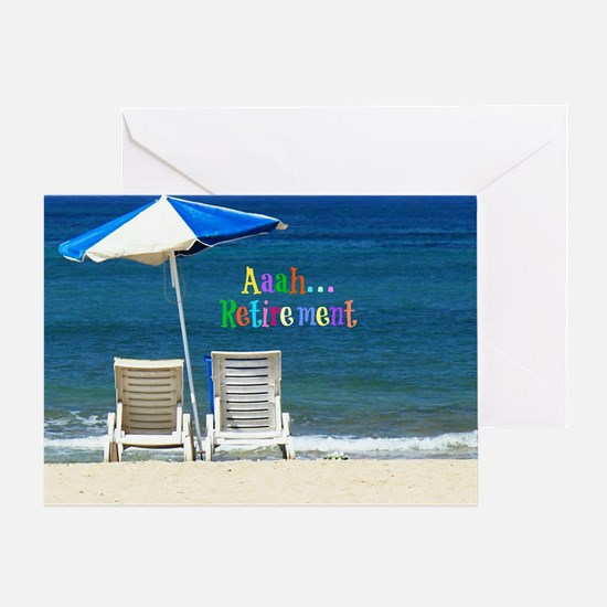 Unique Chairs Greeting Card