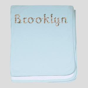 Brooklyn Seashells baby blanket