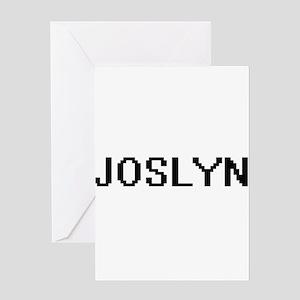 Joslyn Digital Name Greeting Cards
